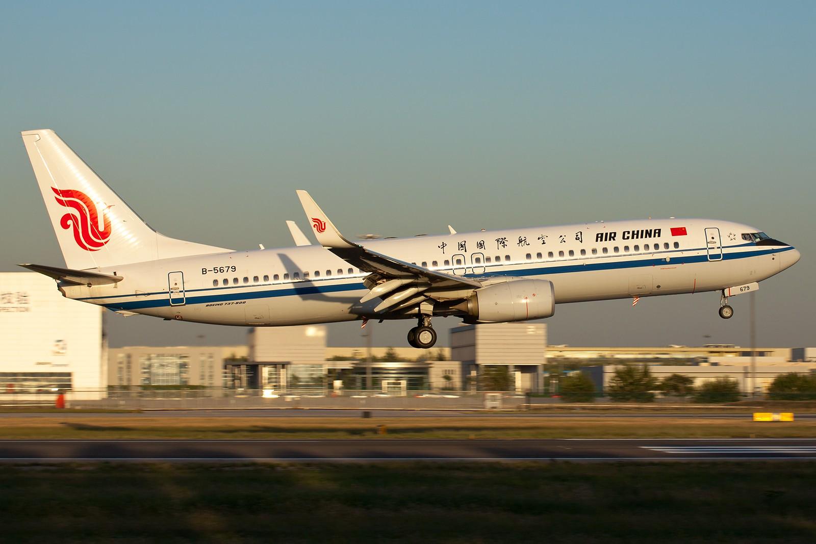 Re:[原创]国航一组 B737&A320系列 [10pics] BOEING 737-800 B-5679 中国北京首都机场