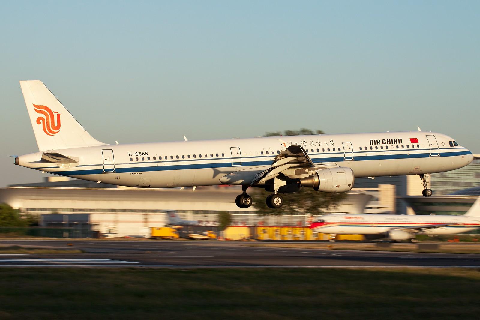 Re:[原创]国航一组 B737&A320系列 [10pics] AIRBUS A321-200 B-6556 中国北京首都机场