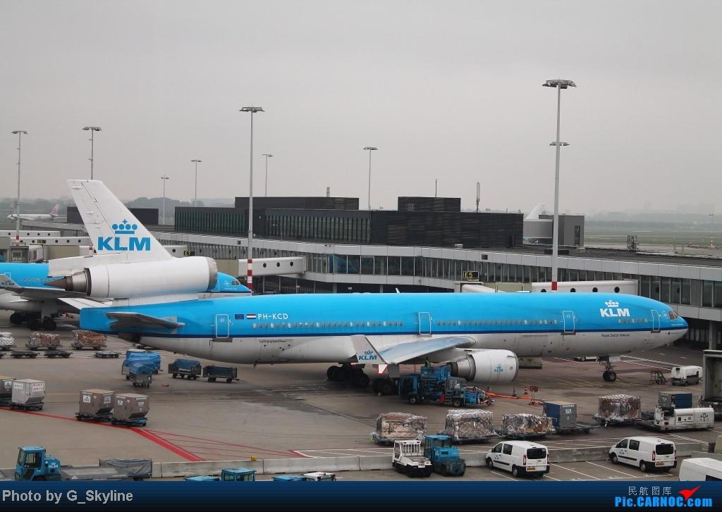 Re:[原创]【YUL】**********蒙特利尔初次拍机:收获荷兰皇家航空MD-11,阴天质量有限请大家包涵,另外希望结识加拿大飞友********** MD-11 PH-KCD 荷兰荷兰阿姆斯特丹斯史基浦(西霍普)机场