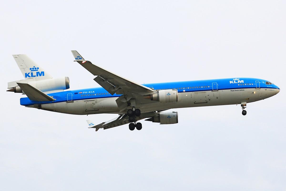 【YUL】**********蒙特利尔初次拍机:收获荷兰皇家航空MD-11,阴天质量有限请大家包涵,另外希望结识加拿大飞友********** MCDONNELL DOUGLAS MD-11 PH-KCA 加拿大蒙特利尔特鲁多机场