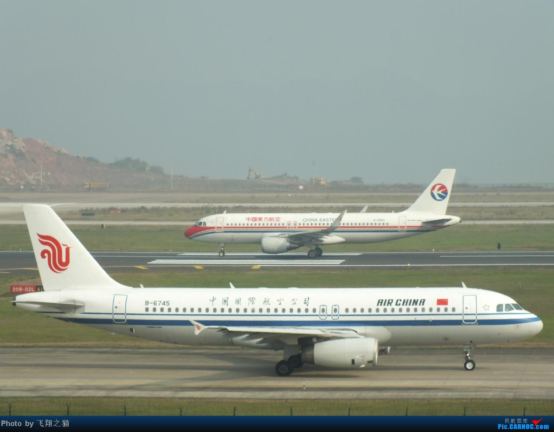 Re:[原创]CKG周末拍机(世博号,吉祥浦东号,大美青海,几架9字头新机机,重磅泰微笑首航重庆) AIRBUS A320-200 B-6745 重庆江北国际机场