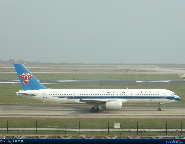 Re:[原创]CKG周末拍机(世博号,吉祥浦东号,大美青海,几架9字头新机机,重磅泰微笑首航重庆) BOEING 757-200 B-2823 重庆江北国际机场