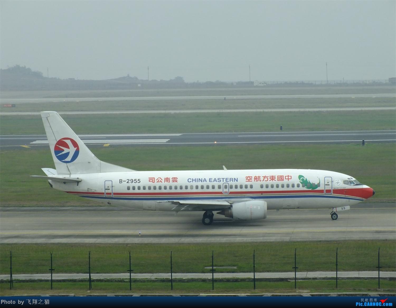 Re:[原创]CKG周末拍机(世博号,吉祥浦东号,大美青海,几架9字头新机机,重磅泰微笑首航重庆) BOEING 737-300 B-2955 重庆江北国际机场