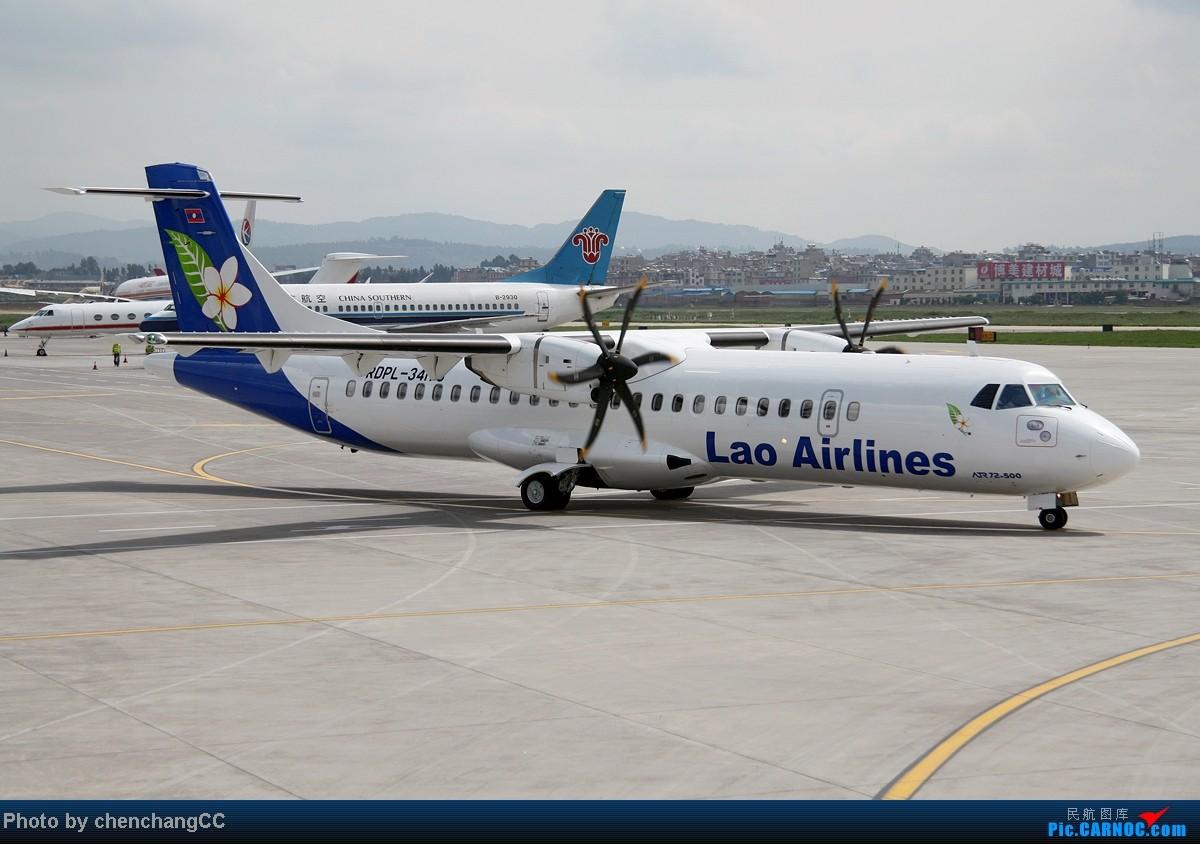 Re:[原创]【chenchangCC】来点特别的,某内场杂拍几张! ATR-72 RDPL-34173 中国昆明巫家坝机场