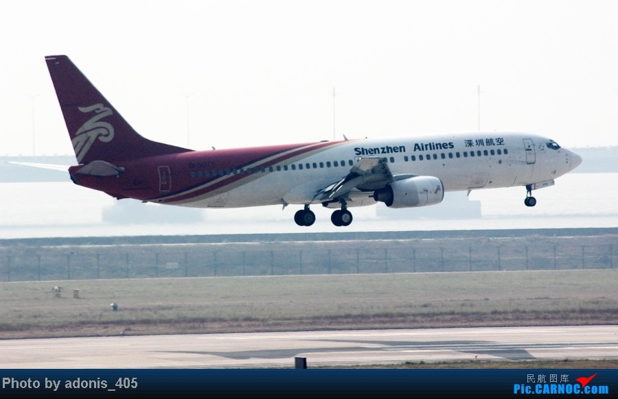 Re:[原创]深圳机场一个新的拍机位置,容易到达。就是下午逆光。 BOEING 737-800  中国深圳宝安机场