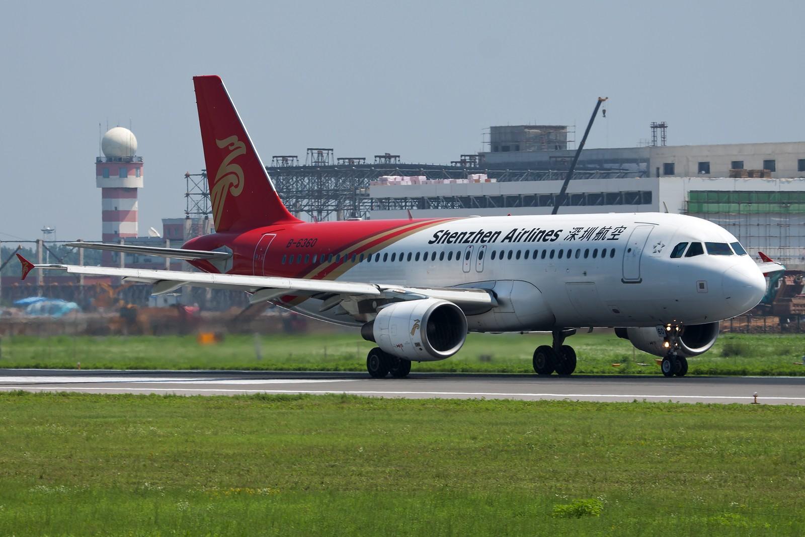 Re:[原创]沈阳桃仙国际机场 24号跑道 深圳航空一组 AIRBUS A320-200 B-6360 中国沈阳桃仙机场