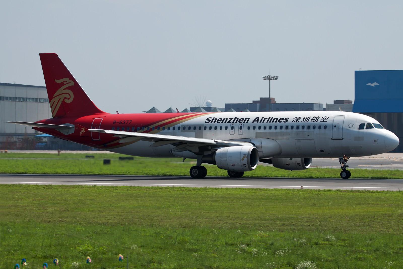 Re:沈阳桃仙国际机场 24号跑道 深圳航空一组 AIRBUS A320-200 B-6377 中国沈阳桃仙机场