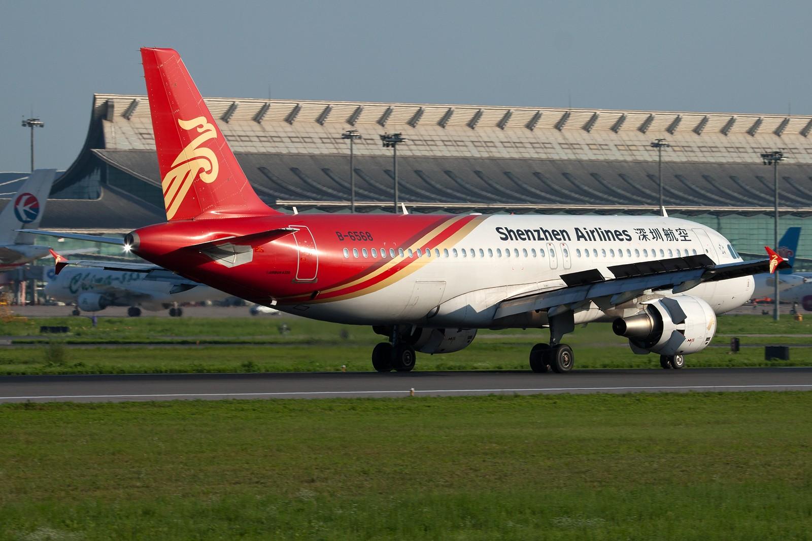 Re:[原创]沈阳桃仙国际机场 24号跑道 深圳航空一组 AIRBUS A320-200 B-6568 中国沈阳桃仙机场