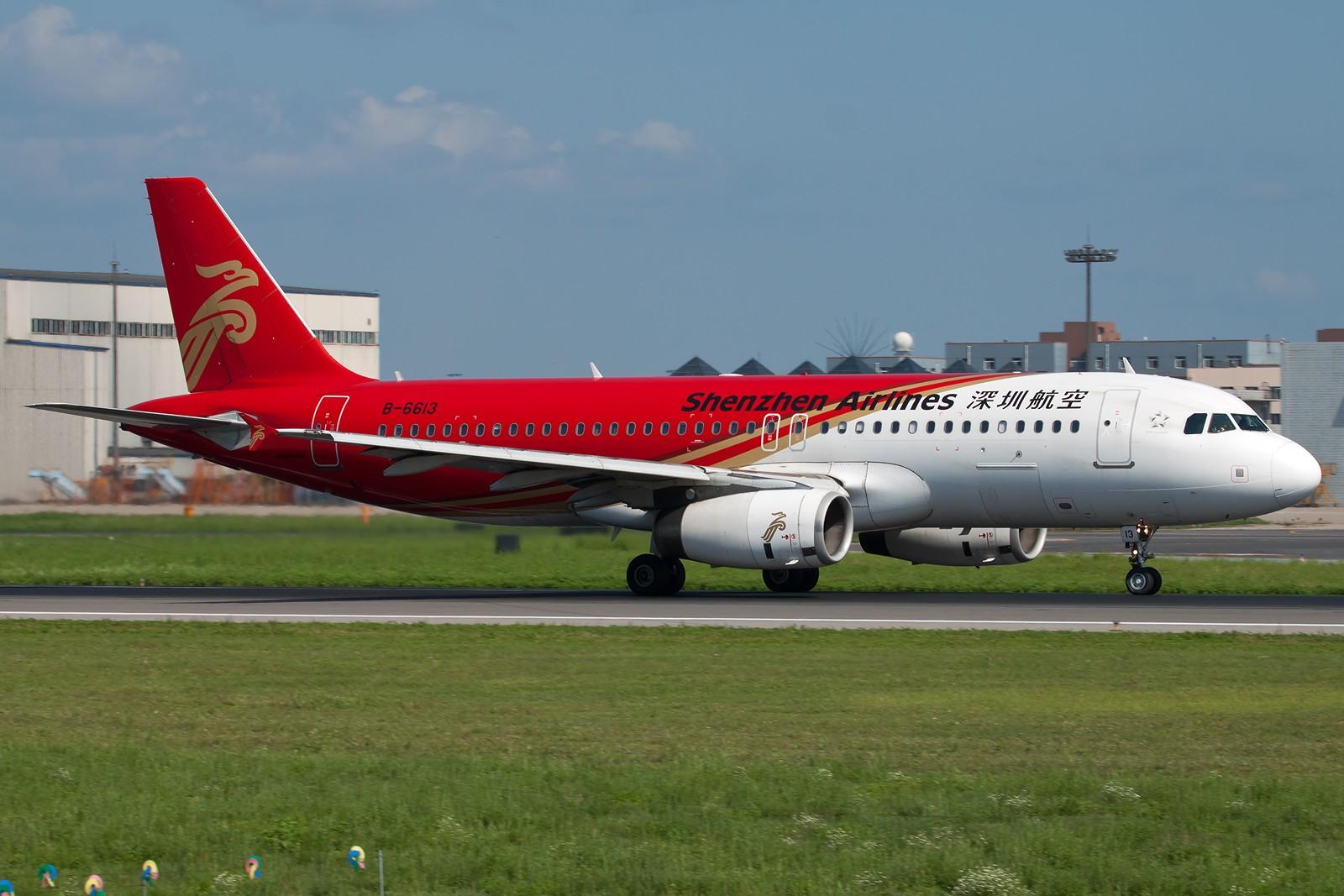 Re:[原创]沈阳桃仙国际机场 24号跑道 深圳航空一组 AIRBUS A320-200 B-6613 中国沈阳桃仙机场