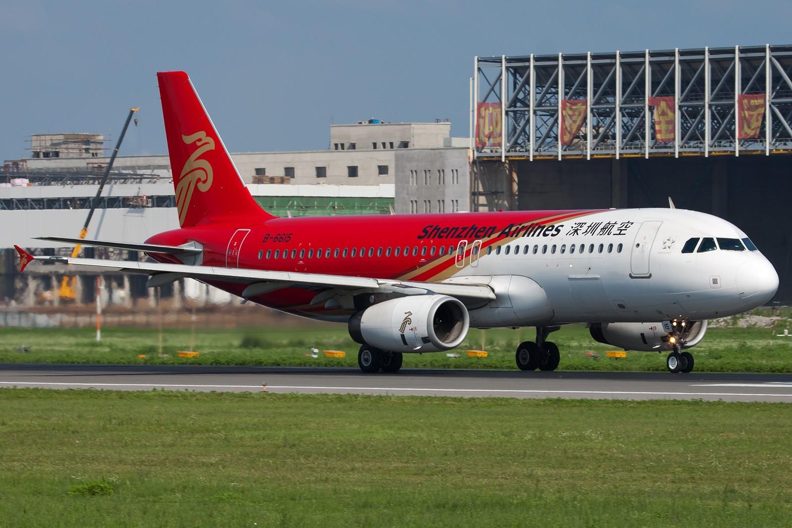 Re:[原创]沈阳桃仙国际机场 24号跑道 深圳航空一组 AIRBUS A320-200 B-6615 中国沈阳桃仙机场
