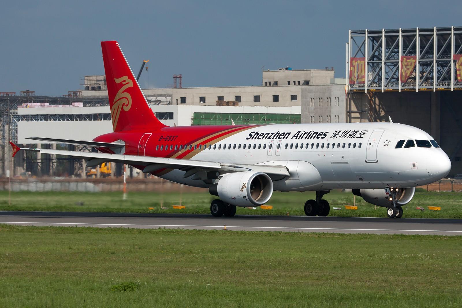 Re:[原创]沈阳桃仙国际机场 24号跑道 深圳航空一组 AIRBUS A320-200 B-6937 中国沈阳桃仙机场