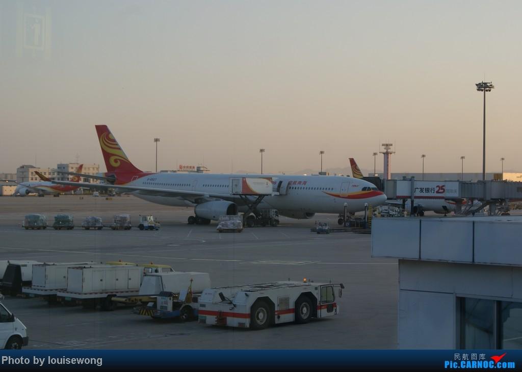 Re:[原创]海航免票回程,PEK-HAK,故障延误换飞机,坑爹的787,外加HAK-CAN段游记 AIRBUS A330-300 B-6527 中国北京首都机场