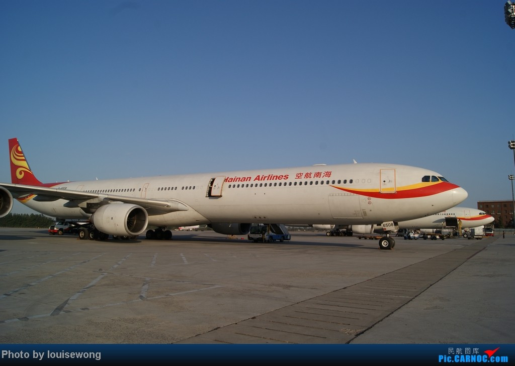 Re:[原创]海航免票回程,PEK-HAK,故障延误换飞机,坑爹的787,外加HAK-CAN段游记 AIRBUS A340-600 B-6508 中国北京首都机场