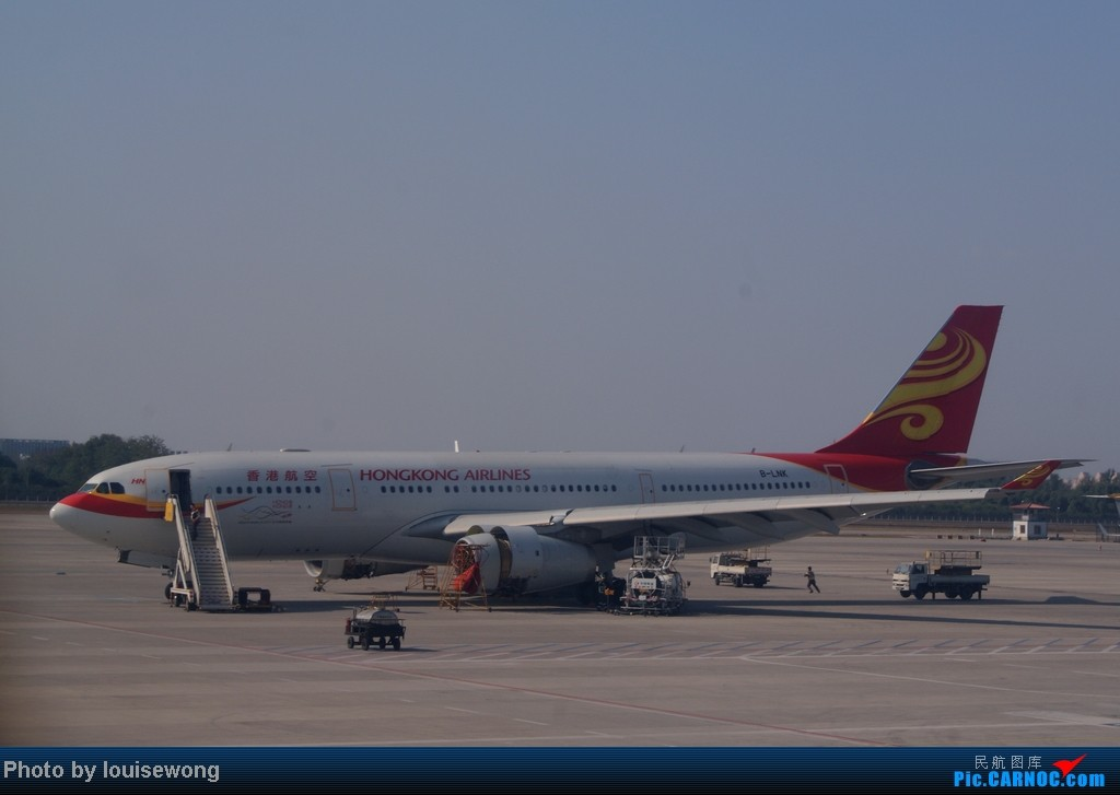 Re:[原创]海航免票回程,PEK-HAK,故障延误换飞机,坑爹的787,外加HAK-CAN段游记 AIRBUS A330-200 B-LNK 中国北京首都机场