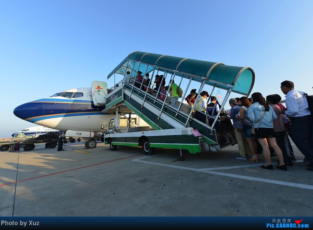 [原创]晨光中起飞 BOEING 737-800 B-5718 中国广州白云机场