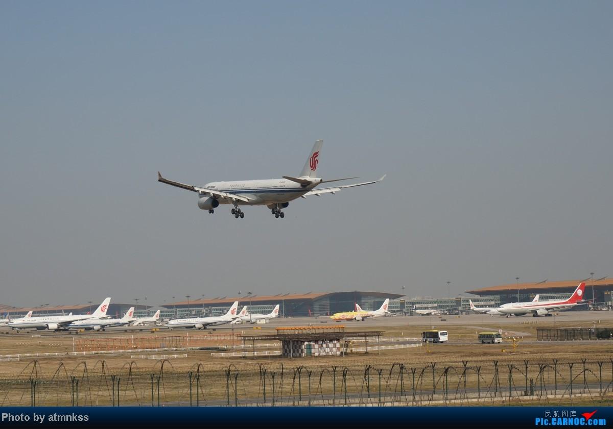 Re:[原创][Atm]10月26八卦台+停车场拍机 终于来到传说中的八卦台 国航两架大猩猩 AIRBUS A330-300 B-6525 中国北京首都机场
