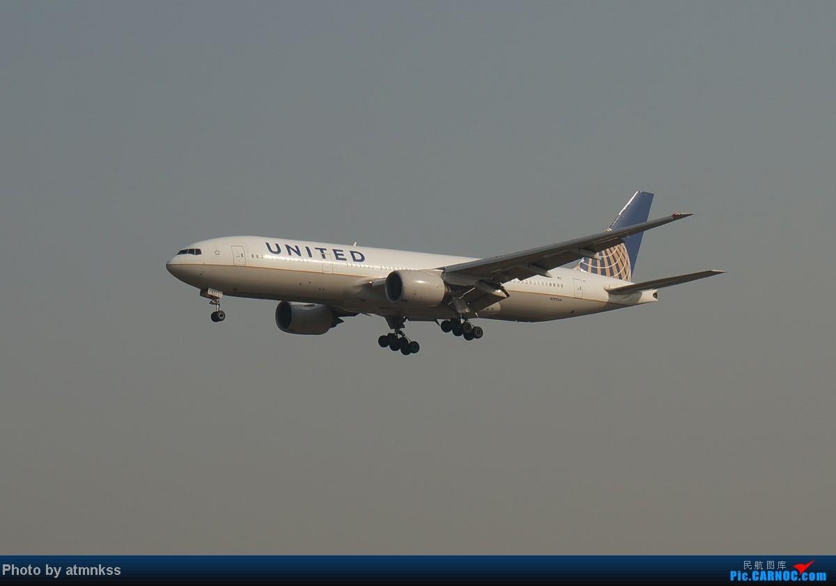Re:[原创][Atm]10月26八卦台+停车场拍机 终于来到传说中的八卦台 国航两架大猩猩 777  中国北京首都机场