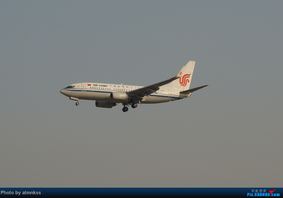 Re:[原创][Atm]10月26八卦台+停车场拍机 终于来到传说中的八卦台 国航两架大猩猩 BOEING 737-700 B-5213 中国北京首都机场
