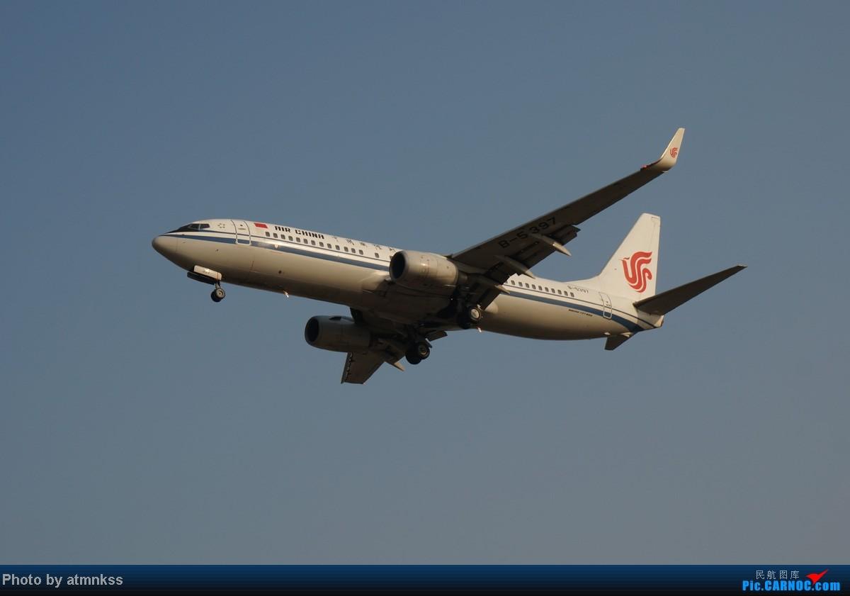 Re:[原创][Atm]10月26八卦台+停车场拍机 终于来到传说中的八卦台 国航两架大猩猩 BOEING 737-800 B-5397 中国北京首都机场