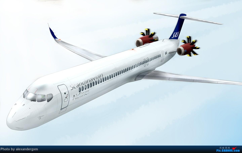 Re:[原创]发一些自己业余画的一些飞机啦~大部分侧视图~ MD-94UDF