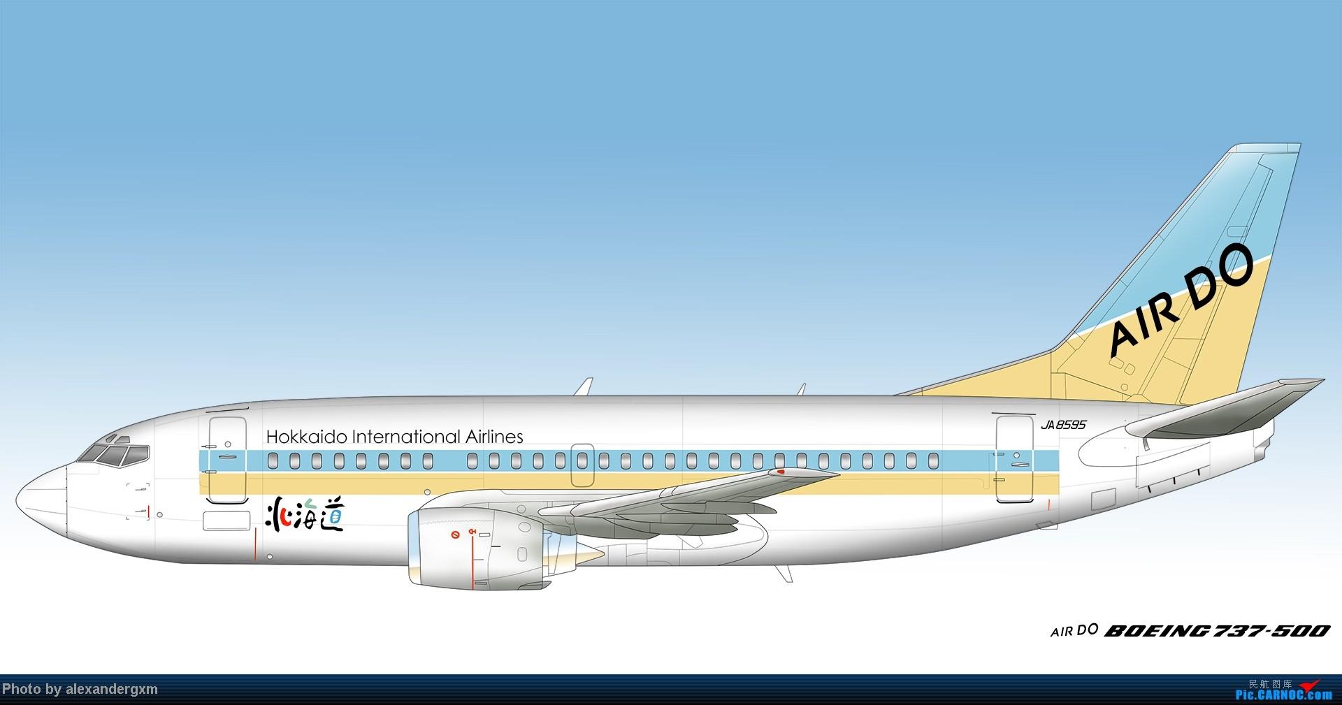Re:[原创]发一些自己业余画的一些飞机啦~大部分侧视图~ 737-500