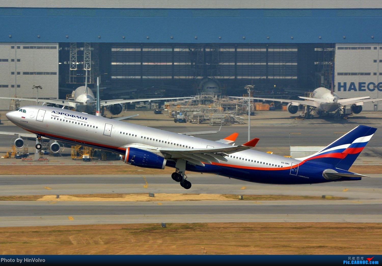 [原创]~~~~六圖系列~~~~HKG的山頭25角度,外航晚拉的飛機! AIRBUS A330-300 VQ-BMX 中国香港赤鱲角国际机场