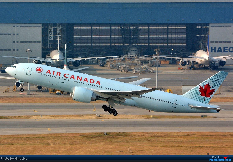 Re:[原创]~~~~六圖系列~~~~HKG的山頭25角度,外航晚拉的飛機! BOEING 777-200 C-FNND 中国香港赤鱲角国际机场