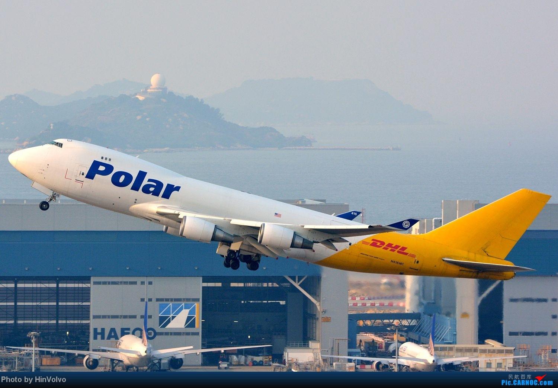 Re:[原创]~~~~六圖系列~~~~HKG的山頭25角度,外航晚拉的飛機! BOEING 747-400 N416MC 中国香港赤鱲角国际机场