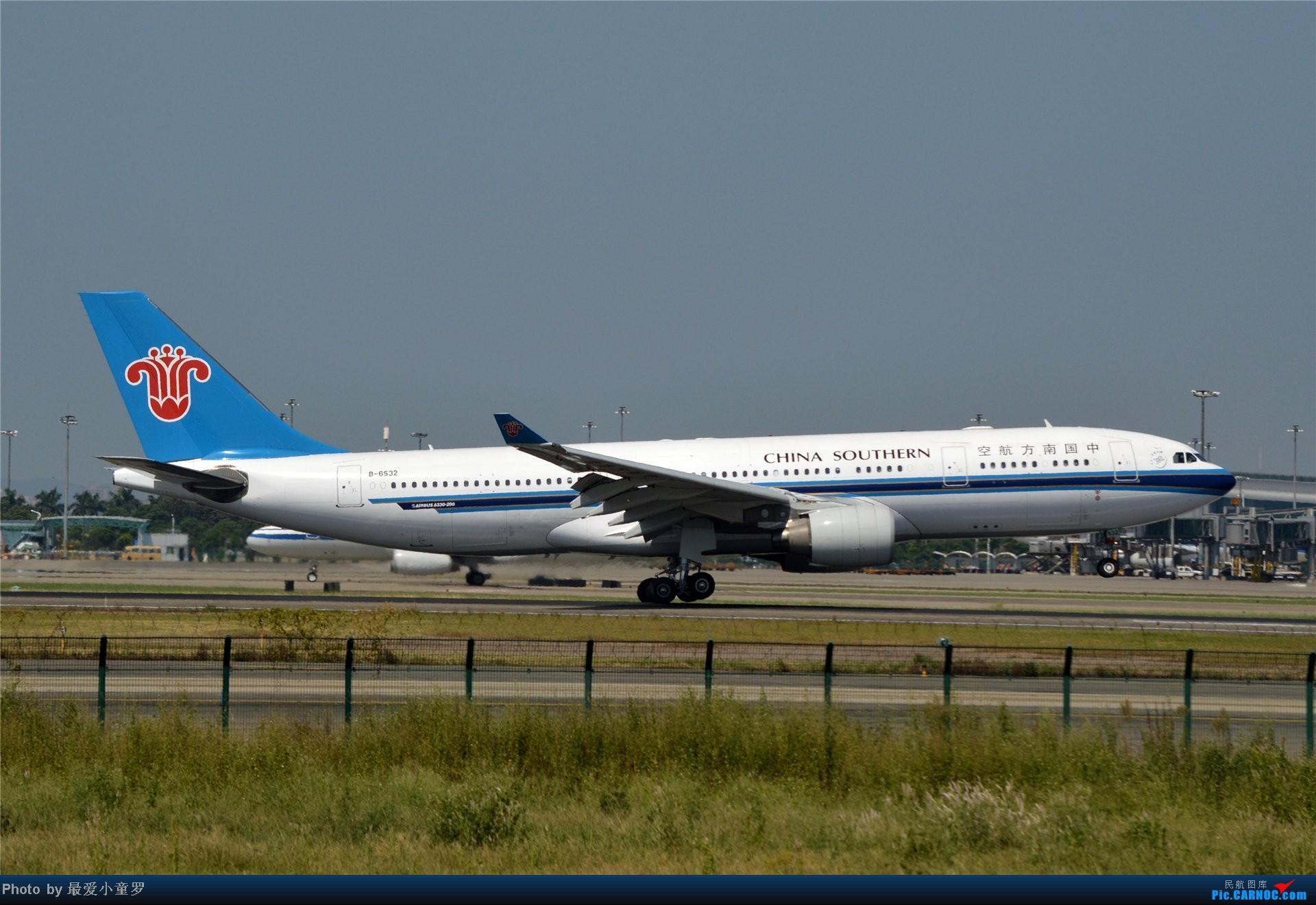 [原创]2013年中秋节CAN拍机(都是些普通货) AIRBUS A330-200 B-6532 中国广州白云机场