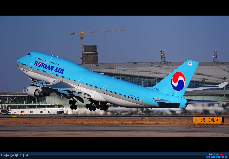 Re:[原创]据大韩机组人员嗦,今天在天津摇摆俯冲落地比在济州落得好~~~ BOEING 747-400 HL-7494 中国天津滨海机场