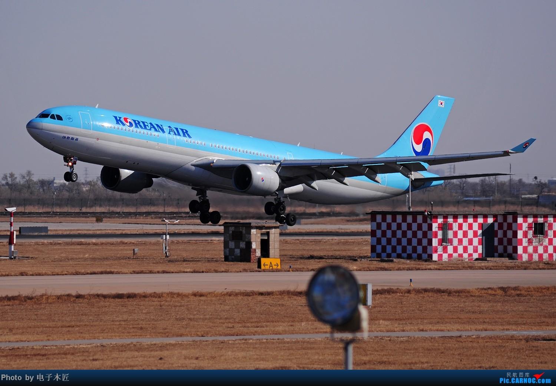 Re:[原创]据大韩机组人员嗦,今天在天津摇摆俯冲落地比在济州落得好~~~ AIRBUS A330-300 HL-7586 中国天津滨海机场