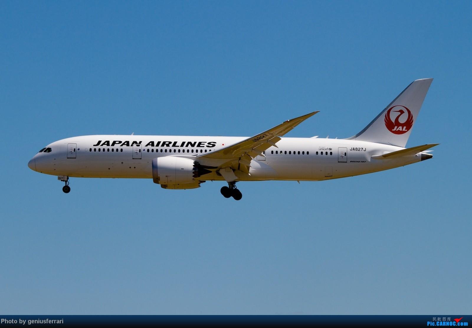 Re:[原创]【CARNOC重庆飞友会】升级787,来一组拍到的787 BOEING 787 JA827J 中国北京首都机场