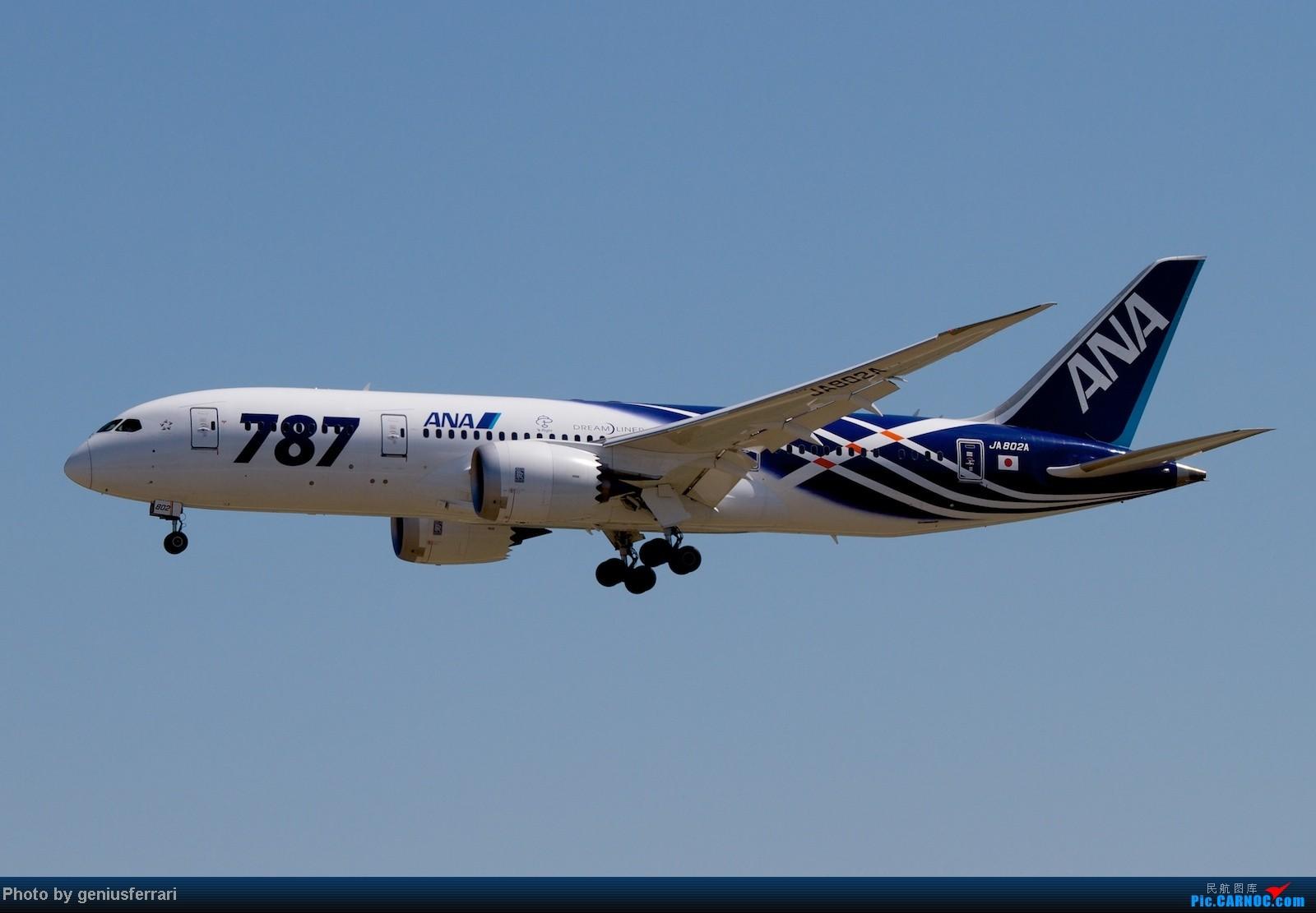 Re:[原创]【CARNOC重庆飞友会】升级787,来一组拍到的787 BOEING 787 JA802A 中国北京首都机场
