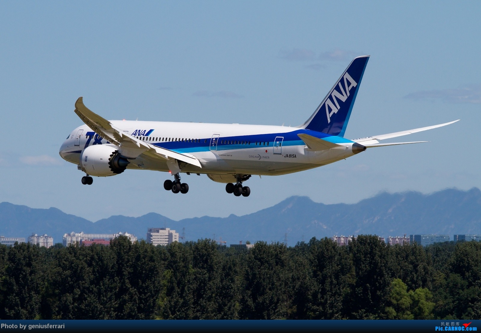Re:[原创]【CARNOC重庆飞友会】升级787,来一组拍到的787 BOEING 787 JA815A 中国北京首都机场
