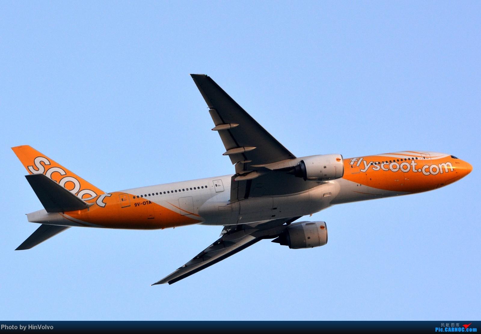 [原创]~~~~多圖系列~~~HKG,早上好!寒冷的天氣出發前往機場拍到中午。 BOEING 777-200 9V-OTA 中国香港赤鱲角国际机场