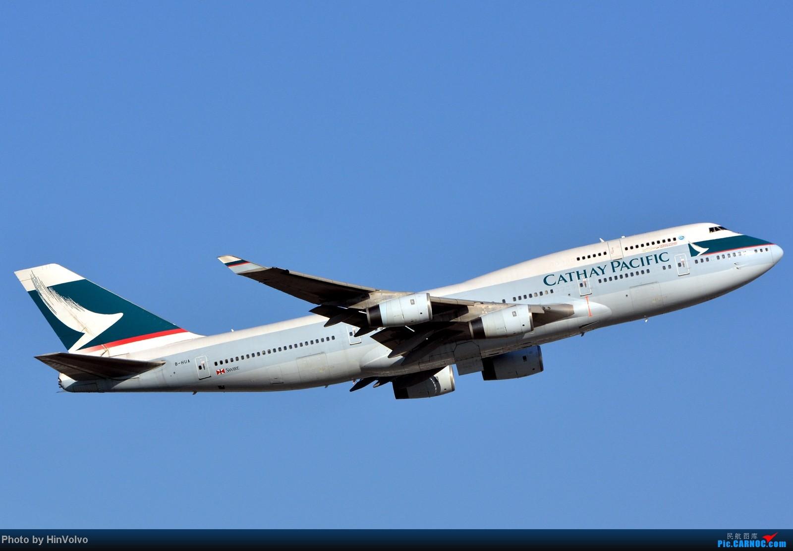 Re:[原创]~~~~多圖系列~~~HKG,早上好!寒冷的天氣出發前往機場拍到中午。 BOEING 747-400 B-HUA 中国香港赤鱲角机场