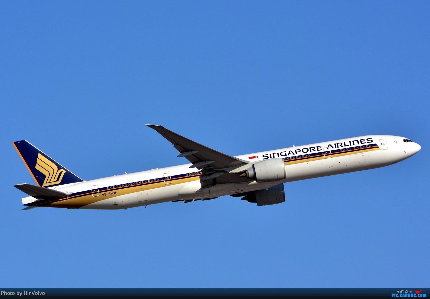 Re:[原创]~~~~多圖系列~~~HKG,早上好!寒冷的天氣出發前往機場拍到中午。 BOEING 777-300ER 9V-SWB 中国香港赤鱲角机场