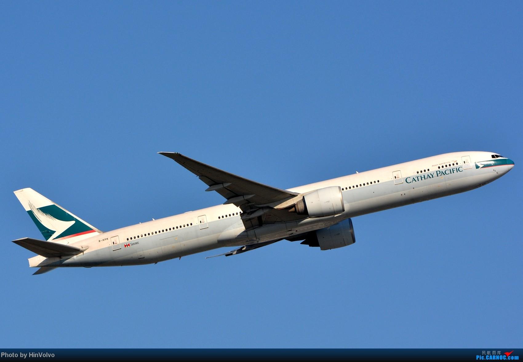 Re:[原创]~~~~多圖系列~~~HKG,早上好!寒冷的天氣出發前往機場拍到中午。 BOEING 777-300 B-KPK 中国香港赤鱲角机场