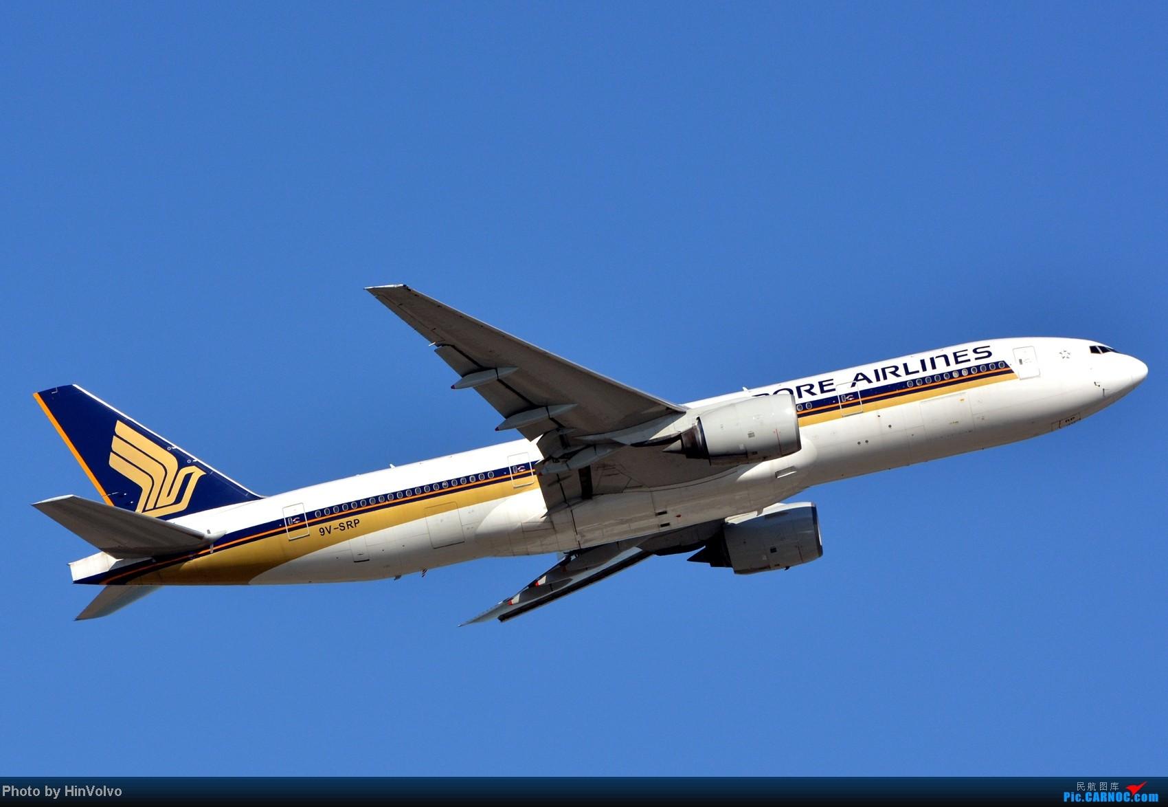 Re:[原创]~~~~多圖系列~~~HKG,早上好!寒冷的天氣出發前往機場拍到中午。 BOEING 777-200 9V-SRP 中国香港赤鱲角机场