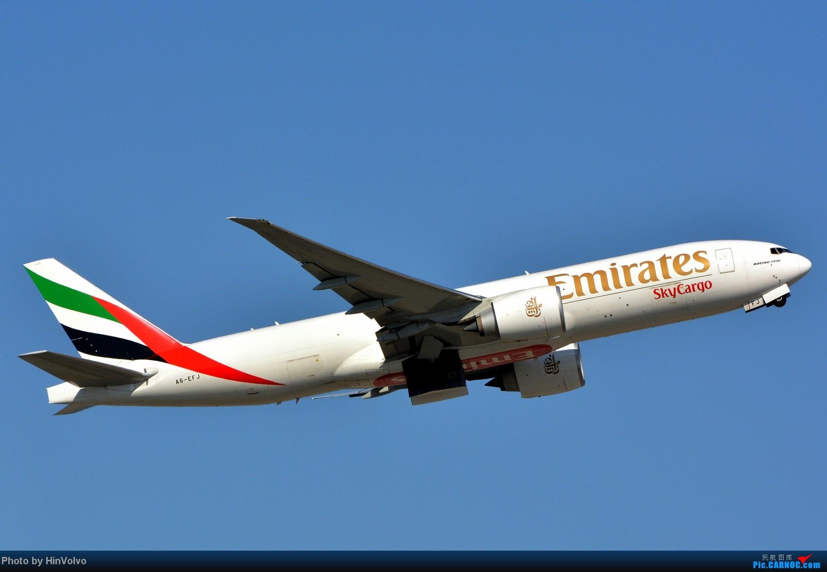 Re:[原创]~~~~多圖系列~~~HKG,早上好!寒冷的天氣出發前往機場拍到中午。 BOEING 777-200 A6-EFJ 中国香港赤鱲角机场