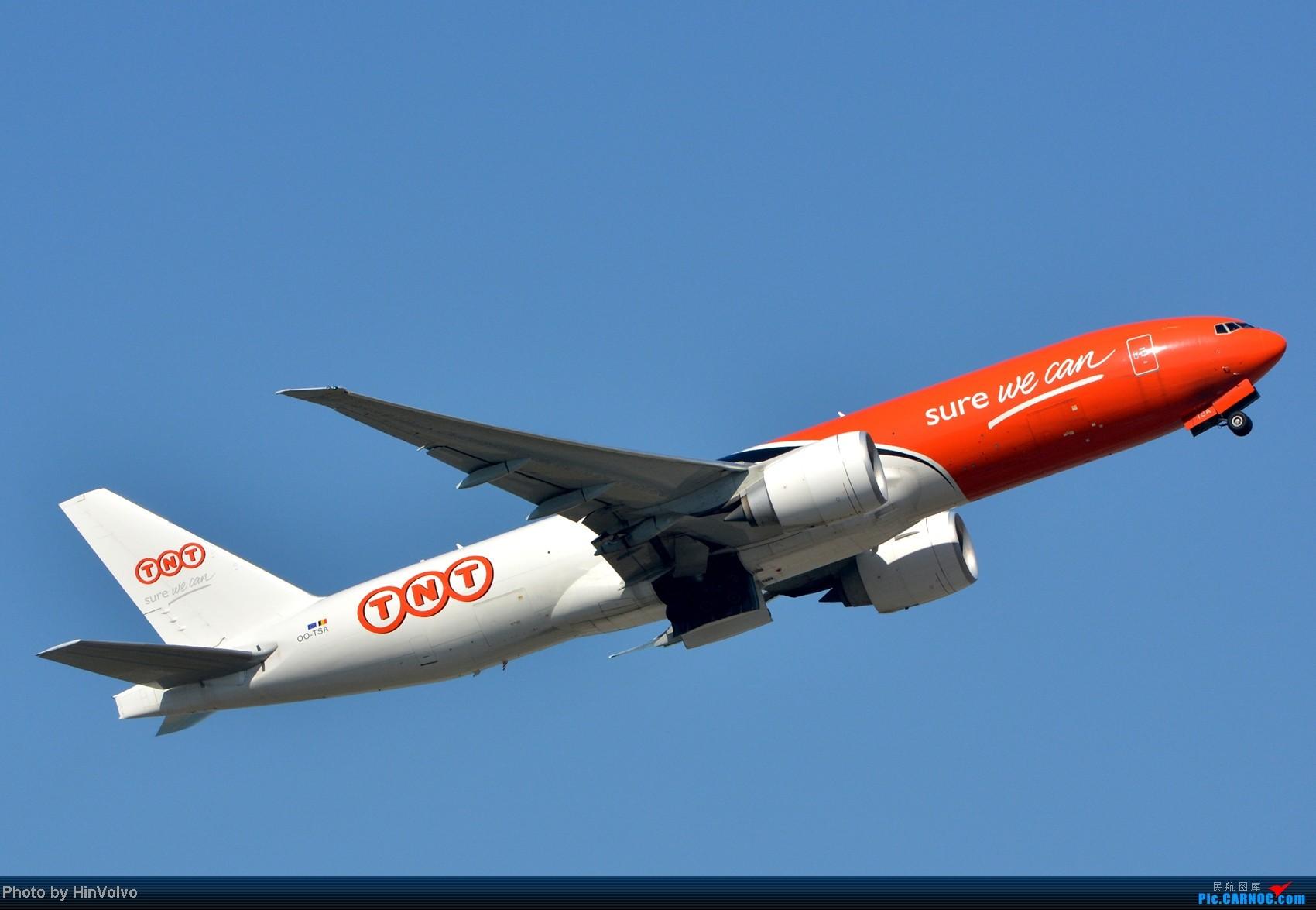 Re:[原创]~~~~多圖系列~~~HKG,早上好!寒冷的天氣出發前往機場拍到中午。 BOEING 777-200 OO-TSA 中国香港赤鱲角机场