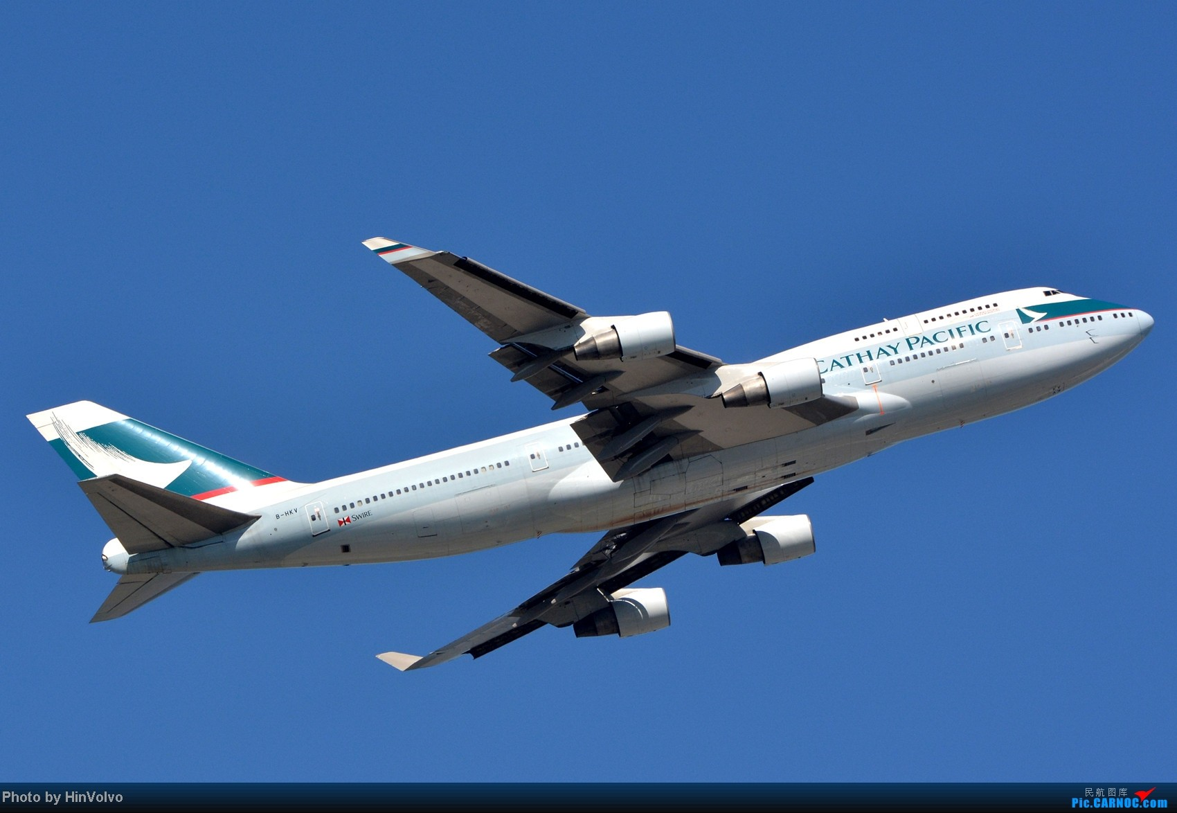Re:[原创]~~~~多圖系列~~~HKG,早上好!寒冷的天氣出發前往機場拍到中午。 BOEING 747-400 B-HKV 中国香港赤鱲角机场