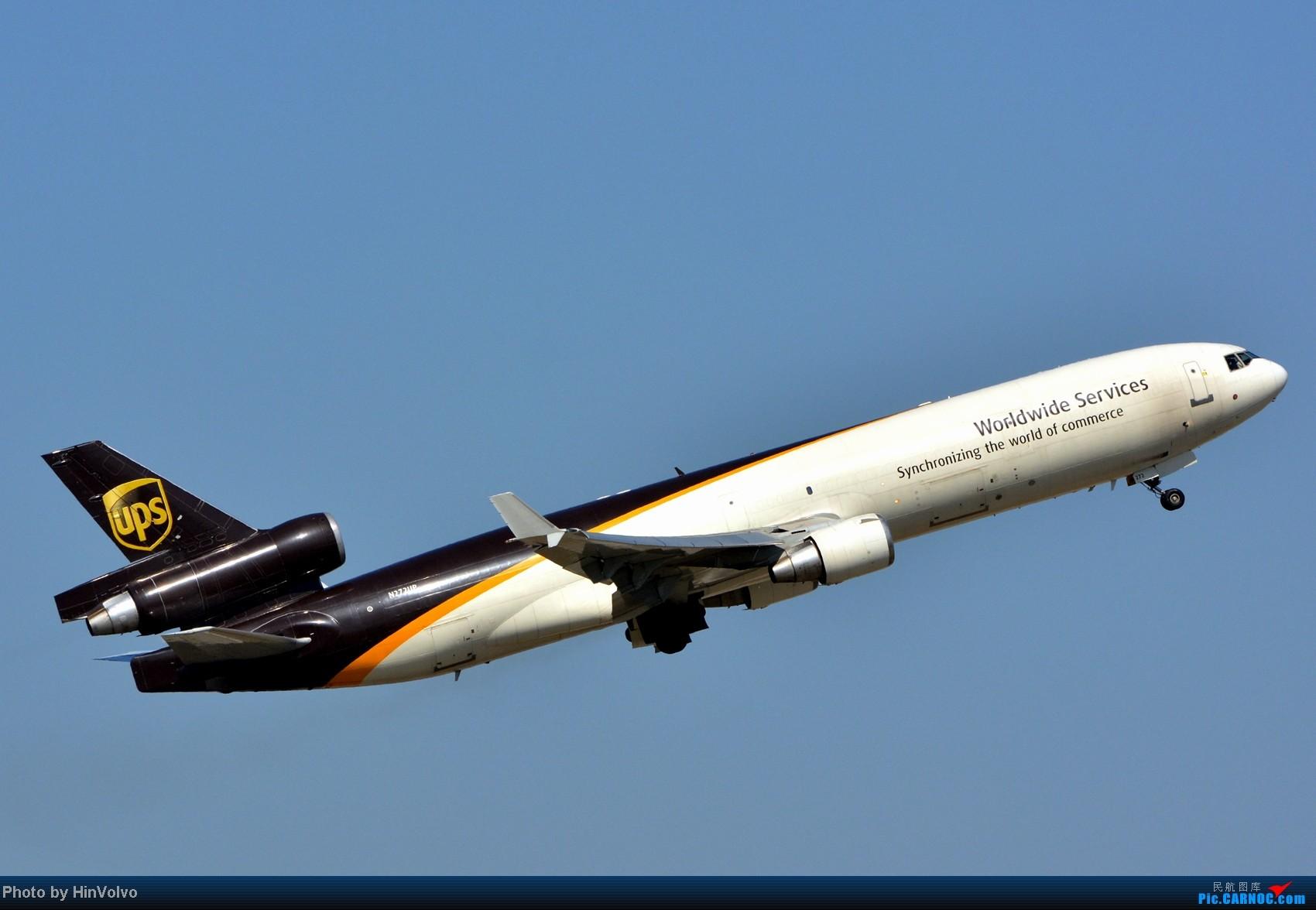 Re:[原创]~~~~多圖系列~~~HKG,早上好!寒冷的天氣出發前往機場拍到中午。 MCDONNELL DOUGLAS MD-11 N272UP 中国香港赤鱲角机场