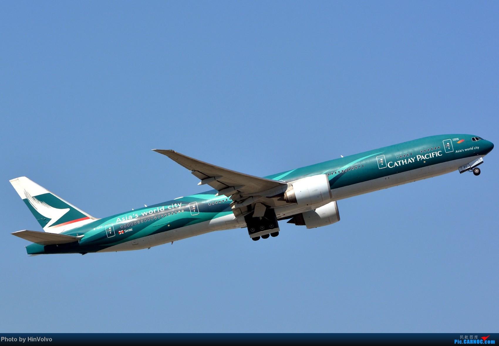 Re:[原创]~~~~多圖系列~~~HKG,早上好!寒冷的天氣出發前往機場拍到中午。 BOEING 777-300 B-KPF 中国香港赤鱲角机场