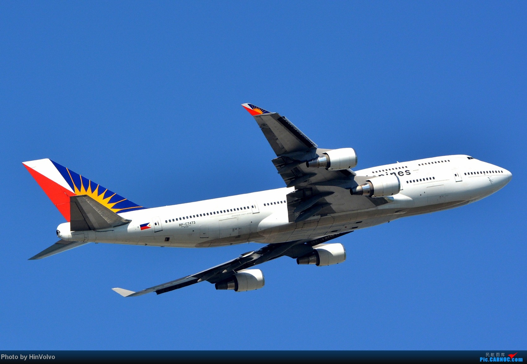 Re:[原创]~~~~多圖系列~~~HKG,早上好!寒冷的天氣出發前往機場拍到中午。 BOEING 747-400 RP-C7473 中国香港赤鱲角机场