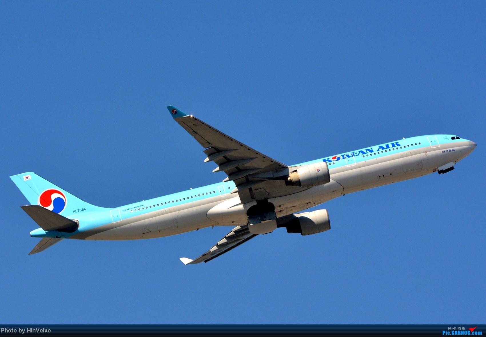Re:[原创]~~~~多圖系列~~~HKG,早上好!寒冷的天氣出發前往機場拍到中午。 AIRBUS A330-300 HL7584 中国香港赤鱲角机场