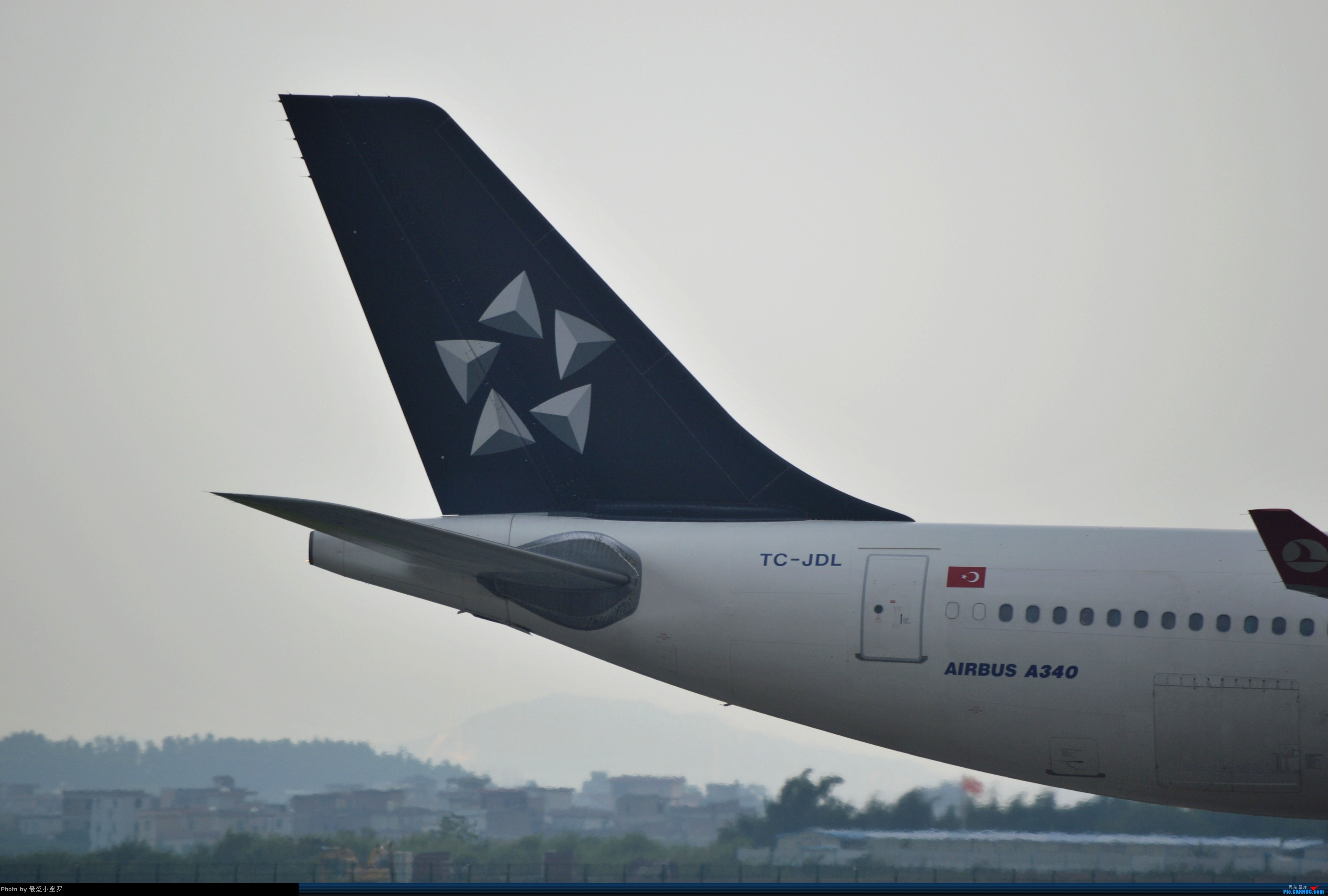Re:[原创]CAN拍机杂图 AIRBUS A340-300 TC-JDL 中国广州白云机场