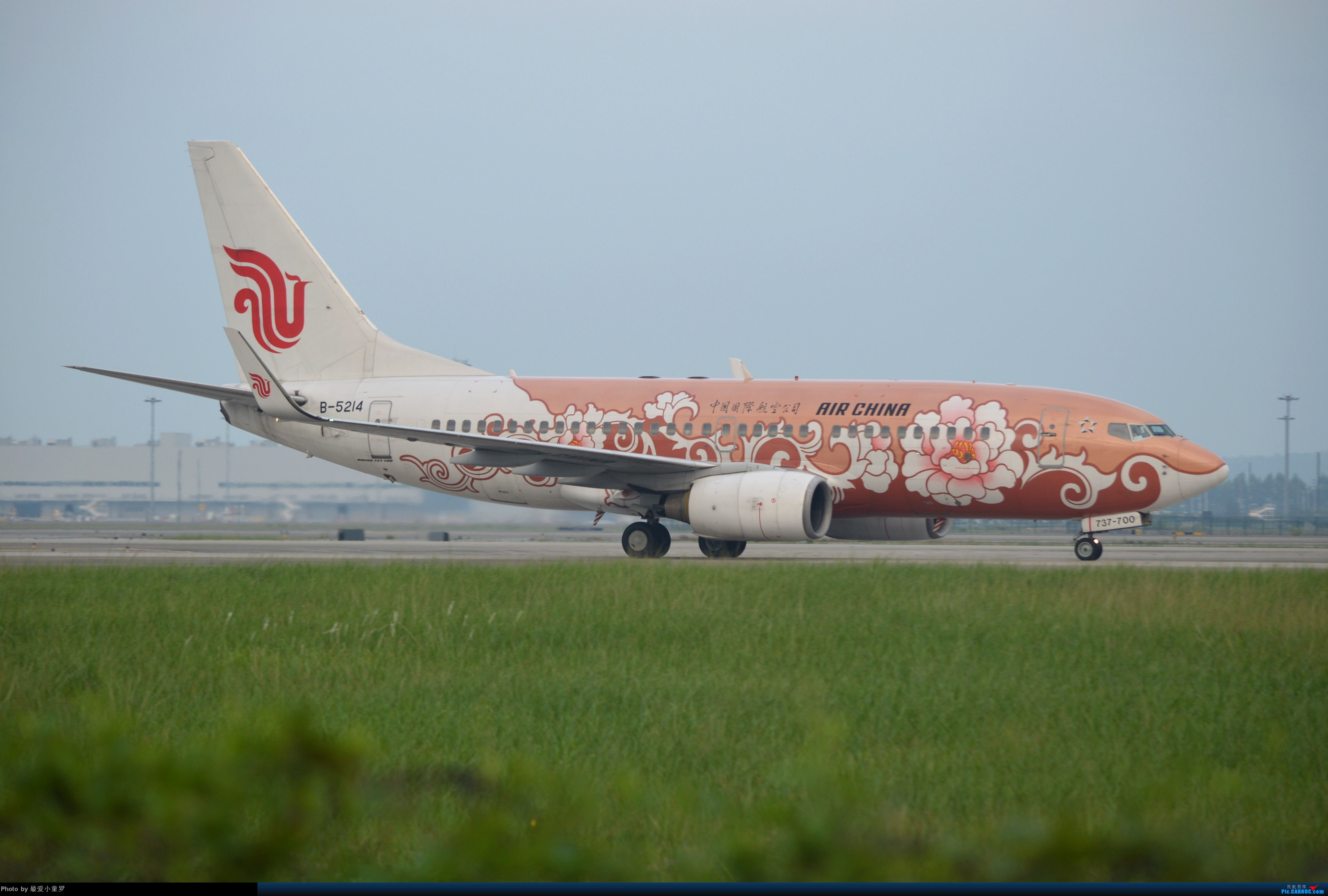 Re:[原创]CAN拍机杂图 BOEING 737-700 B-5214 中国广州白云机场
