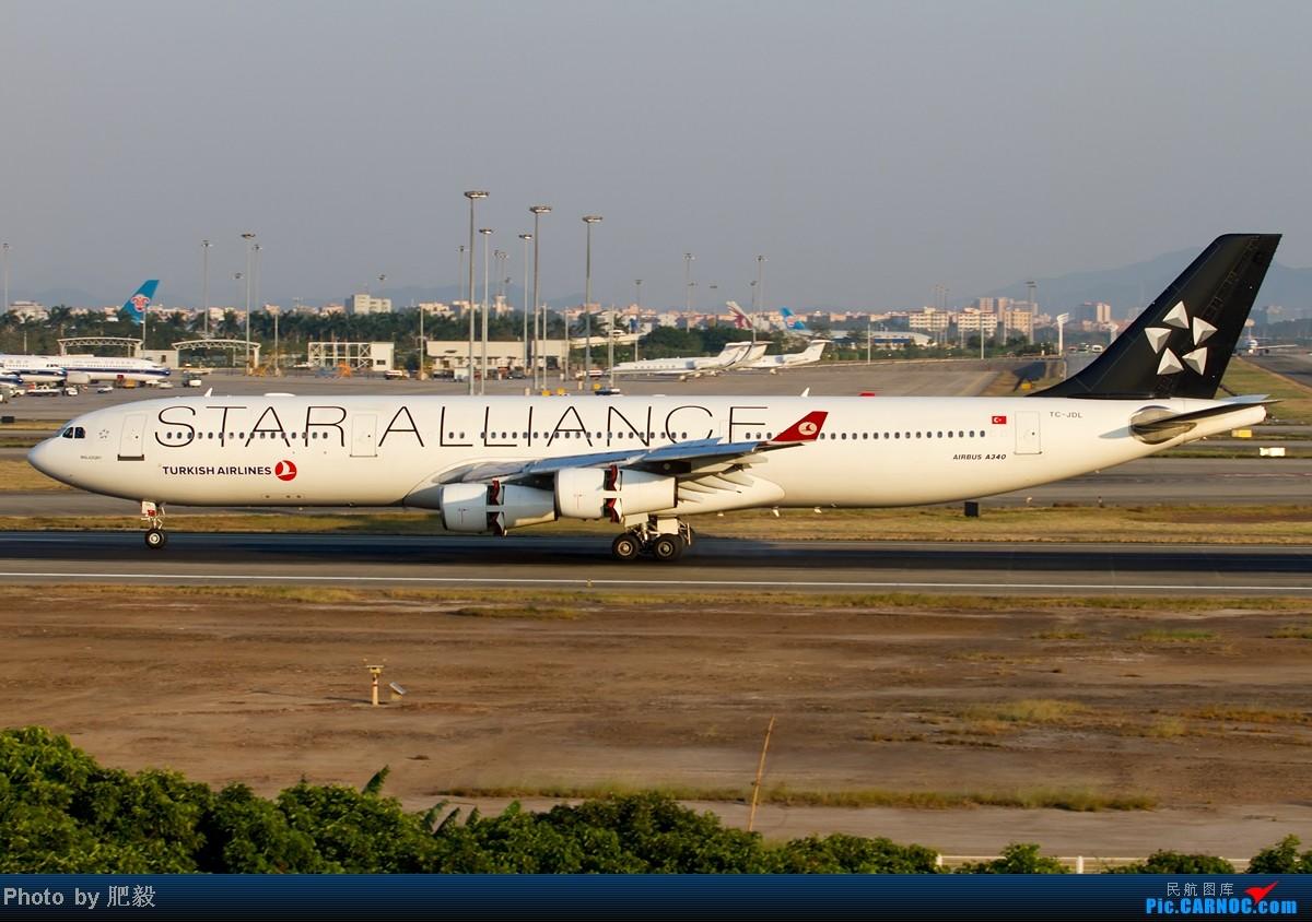 Re:[原创][CASG]证明我存在 AIRBUS A340-300 TC-JDL 中国广州白云机场