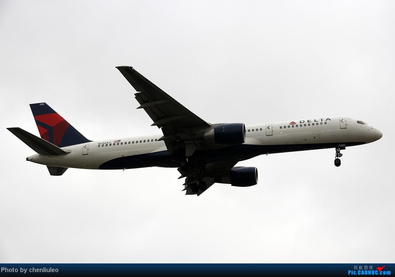 Re:[原创]【杭州飞友会】LAX拍机。阴天。傍晚。逆光。亮点不多。 BOEING 757-212 N750AT 美国洛杉矶机场
